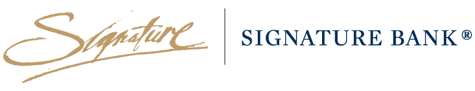 Signature Bank Cover Page